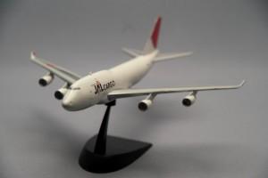 JAL CARGO 747-400F パーティングラインが目立つなあ