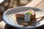 黒糖チーズケーキ。甘くてうまかった。野郎一人でお茶ですが、なにかw