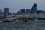 これは浜松町から出てる船なのかな。いろいろなカタチあるんだね。