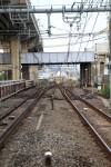 左が湘南新宿ラインで大崎駅へ。右は品川駅に向かう横須賀線。