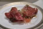石垣牛のカルパッチョ・島味噌和え 二皿食ってやったw