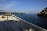 翌日は釣りをしました。和船32フィートくらい。和船なので小さく感じます。海は穏やか。