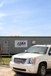 JAXAのコンテナハウス。立派なの建てちゃえばいいのに。