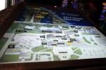 ビジターコンプレックスのマップ。広いのですが、全部見ても2時間ってところじゃないでしょうか。