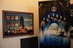 カフェテリアにあったポスター。いつも打ち上げ前にこうやって盛り上げるわけだ。