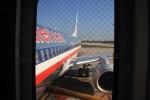 フロリダの青空とお別れ。737だいっきらい。