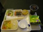 JALの機内食ってAA以下じゃねーのか、これ。まずい。