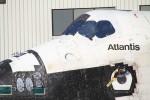 Atlantisのロゴ。最後のシャトル。