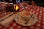 オニオングラタンスープもうまい。ステーキの写真は忘れたw