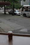 六日目。朝から散歩してカフェに行く。