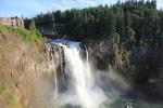 イサクアにある滝。なかなかよかった。