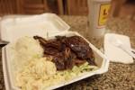 初日の晩ご飯はL&Lでカルビ定食だわさ。