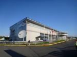 ブルーエンジェルスの取材場所、というか航空博物館