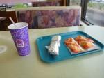 つーわけで初日の昼飯はタコベル。