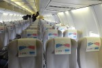 飛行機ガラガラ。平日の冬なんだから当たり前かw